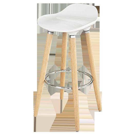 frandis tabouret de bar lounge blanc pas cher achat. Black Bedroom Furniture Sets. Home Design Ideas