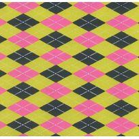 Oz - 22259 Papier Arlequin Vert/FRAMBOISE