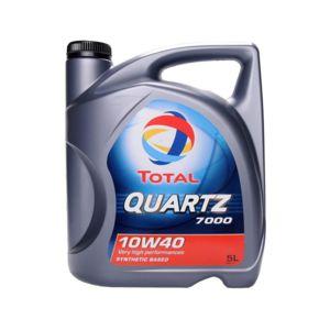 total huile moteur quartz 7000 10w40 bidon de 5 l achat vente huiles moteurs pas cher. Black Bedroom Furniture Sets. Home Design Ideas