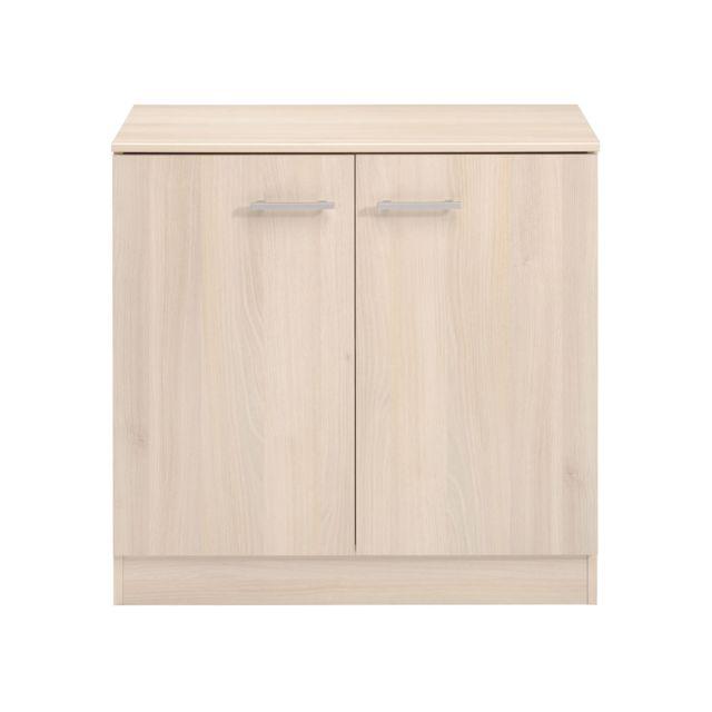 HABITAT ET JARDIN Commode Soft - 77 x 40 x 78 cm - Acacia