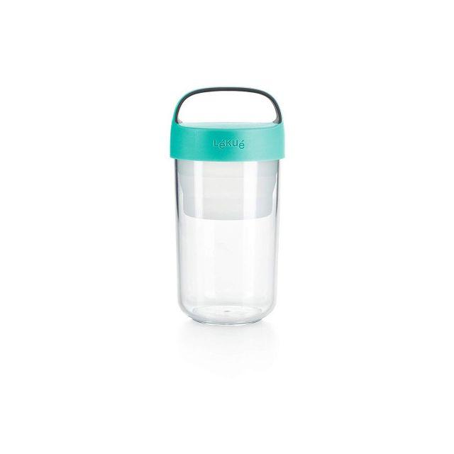 Lékué Lekue Bocal de voyage Jar to go 60 cL turquoise