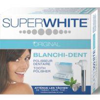 Super White Original - Polisseur Dentaire Blanchi-dent - Système Rotatif à Piles