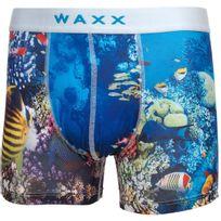 Waxx - Sous vêtement boxer Bora bora boxer homme Bleu 38521
