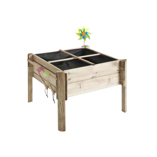 jardipolys carr potager pour enfant kindy pas cher achat vente carr potager rueducommerce. Black Bedroom Furniture Sets. Home Design Ideas