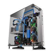THERMALTAKE - Boiter PC ATX Core P5 TG Blanc, Verre trempé