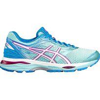 Asics - Gel Cumulus 18 Bleue Aqua Chaussures Running femme