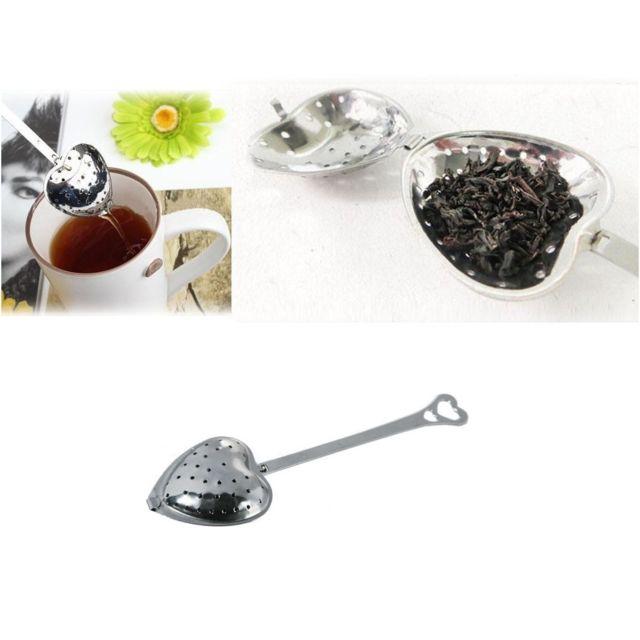 sans - boule à thé en forme de coeur - infuseur cuillère passoire