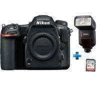 NIKON - Pack Expert D500 + flash Sigma EF-610 + Carte SD 32Go