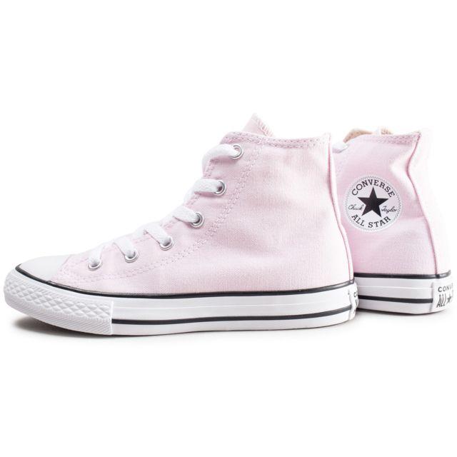 chaussure converse femme rose