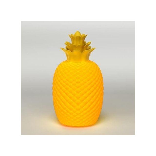 Sema Design Ostaria Lampe Ananas Jaune 99420 Pas Cher