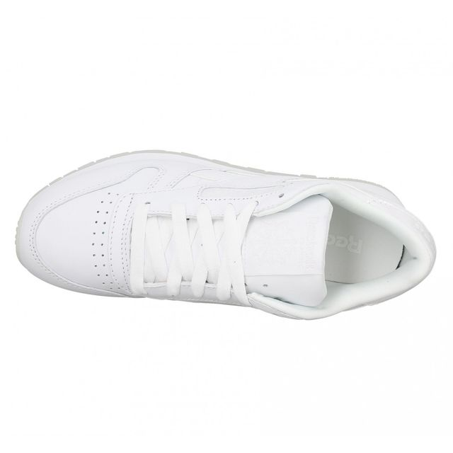 Reebok Classic Leather cuir Femme 41 White Ice Blanc pas