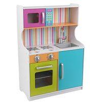 KIDKRAFT - Cuisine en bois aux couleurs vives Toddler - 53378