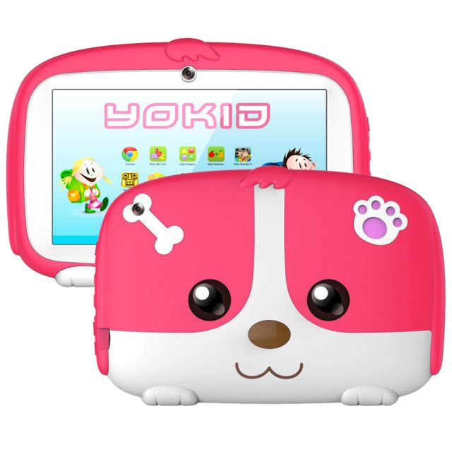 Tablette Educative Enfant Android 6 0 Yokid 7 Pouces Ecran Tactile 1gb Ram Quad Core Bluetooth 8go Rose