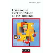 Dunod - l'approche experimentale en psychologie - 7eme edition