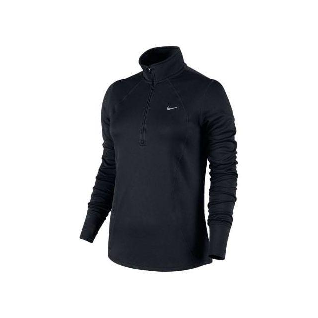 a7fd9948bad97 Nike - Veste Racer Ls 1 2 Zip Top noir argenté femme Multicolour - pas cher  Achat   Vente Coupe-vent, vestes - RueDuCommerce