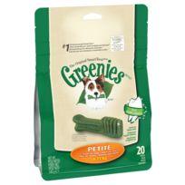 Greenies - Bâtonnets à Mâcher pour l'Hygiène Dentaire pour Petit Chien - x20