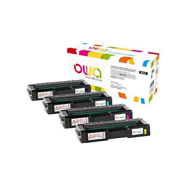 Toner Armor Owa compatible Ricoh 407716 noir pour imprimante laser
