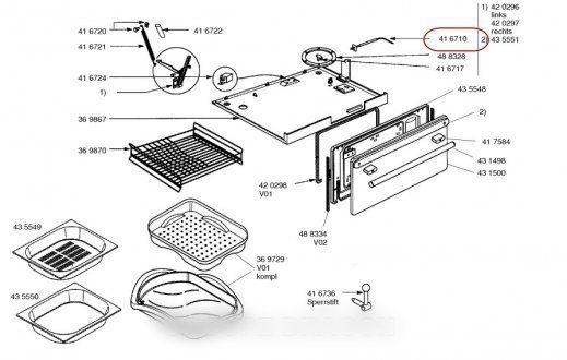 Bosch Sonde sensor ptc pour four b/s/h