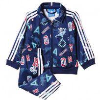 Adidas originals - Survêtement Superstar Marine Bébé Garçon Adidas