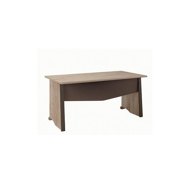 Bureau 160x74x80cm naturel - Rafael