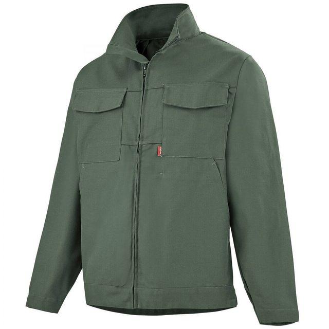 veste de travail vert foncé femme
