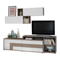 meuble living tv achat meuble living tv pas cher rue du commerce. Black Bedroom Furniture Sets. Home Design Ideas