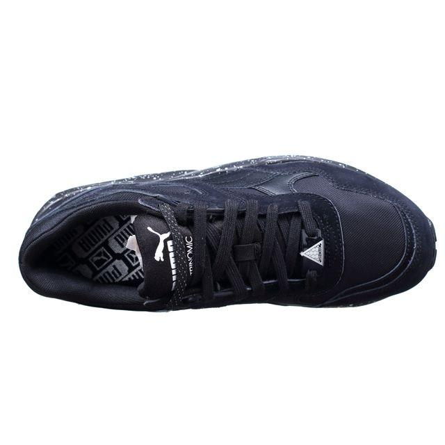 basket puma trinomic r698 speckle v2 noir