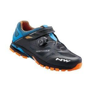 Northwave Bike Way VTT Shoes, Noir/vert
