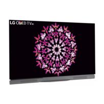 """LG - TV LED 55"""" 139 cm OLED55E7N - Argent"""