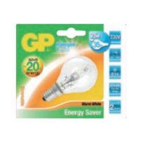 Gp - Energy Saver - Halogenglühlampe - Form: Mini-Ball - E14 - 28 W - Warmweiß