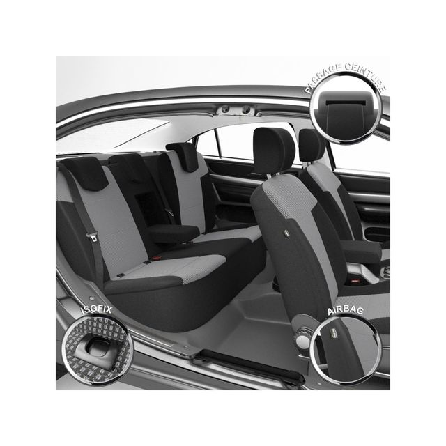 dbs housse de si ge auto voiture sur mesure pour kia sportage 09 2015 2018 pas cher. Black Bedroom Furniture Sets. Home Design Ideas