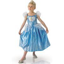 Rubies - Boite Vitrine - Déguisement Enfant Cendrillon - Love Heart - Taille : 3-4 ans 94 à 108 cm