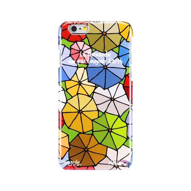 Hihihi - Coque rigide Normandie vue par Gougoule Earth pour Apple iPhone 6 101031b0a7f8