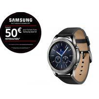 Samsung - Montre connectée Gear S3 Classic - SM-R770NZSAXEF - Argent