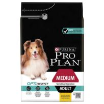 Proplan - Pro Plan - Croquettes Optidigest Sensitive Digestion au Poulet pour Chien Adulte - 3Kg