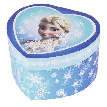 la reine des neiges boite bijoux grand coeur musical elsa pas cher achat vente coffrets. Black Bedroom Furniture Sets. Home Design Ideas