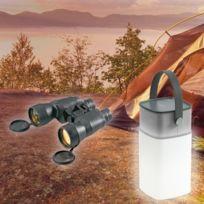 Clip Sonic - Enceinte Led Bluetooth camping + Paire de jumelle