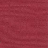 Bazzill Basics Paper - Papier texture toile Maraschino 30,5 cm