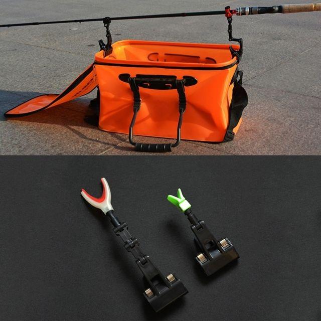 Wewoo - Cannes à pêche Support de canne à 2 en 1 Réglable Radeau Tackle  Bateau f47d5ce55a6