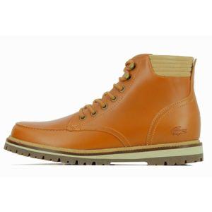 lacoste boots montbard 316 732cam0083158 marron pas cher achat vente boots homme. Black Bedroom Furniture Sets. Home Design Ideas