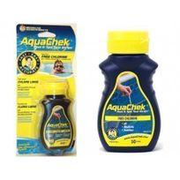 Aquachek - Bandelettes Aquacheck Test Strips : analyse chlore, pH, Alcalinité & Stabilisant