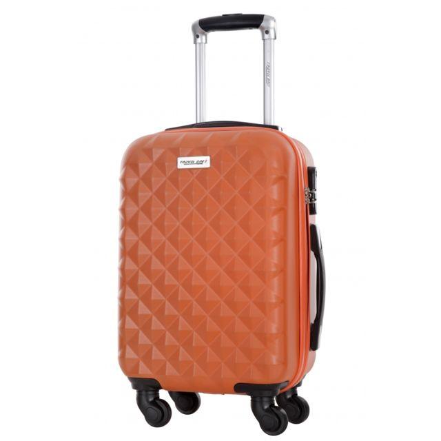 218ea513a3ab7 Travelone - Travel One Valises Rigides Valise - Edison Orange L - 3 ...