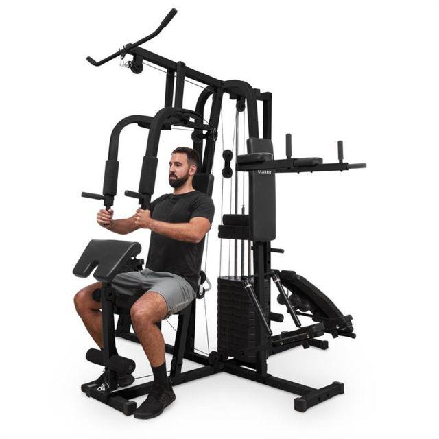 Klarfit Ultimate Gym 9000 Station De Musculation Multifonction