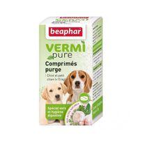 Beaphar - Comprimés de purge aux plantes Vermipure 50 comprimés Chiot et petit chien