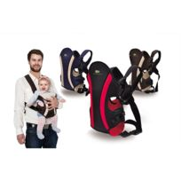Kinderkraft - Porte-bébé ventral et dorsal porte bébé Comfort 3-12 mois Bleu