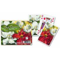 Gibsons Games - Florale Piatnik Jeu De Cartes À Jouer Deck LOT De 2