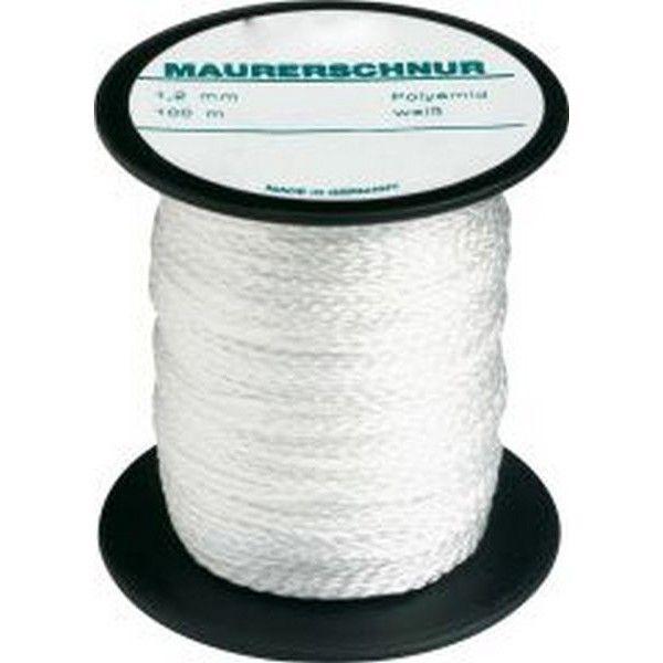 marque generique cordeau de ma on perlon couleur blanc naturel long 100 m r sistance. Black Bedroom Furniture Sets. Home Design Ideas