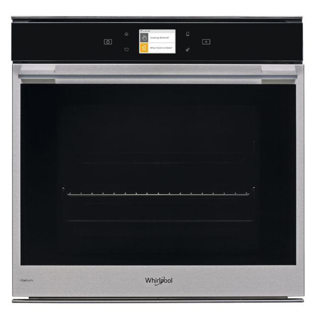 Whirlpool four intégrable 73l 60cm a+ pyrolyse noir/inox - w94ms1om2p