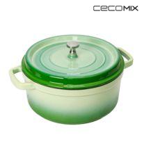 Cecomix - Cocotte Bambou Mesure 20 cm