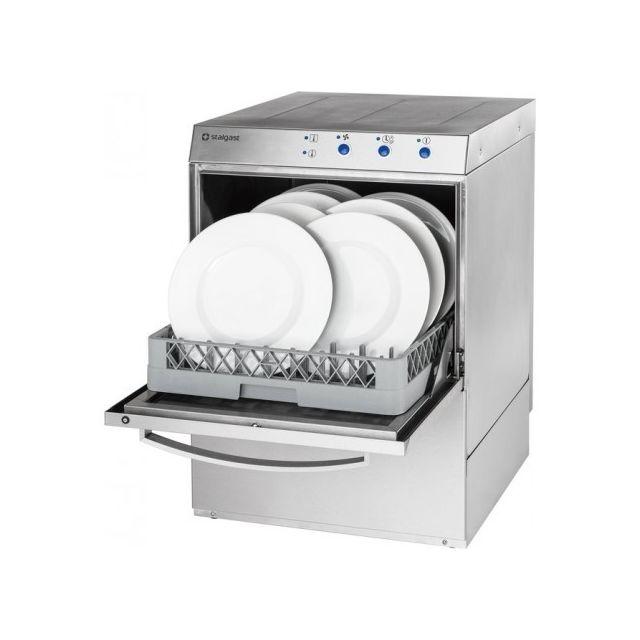 Materiel Chr Pro Lave-Vaisselle Professionnel 220V - Doseur Détergent & Pompe de Vidange - 220V monophase